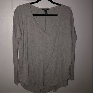 Never worn F21 highlow sweater